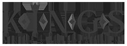 King's Dining & Entertainment logo in MOK Capital Advisors grey palette