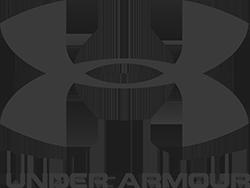 Under Armor logo in MOK Capital Advisors grey palette